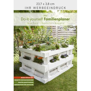 Do-it-yourself Familienplaner 23,7 x 34 cm